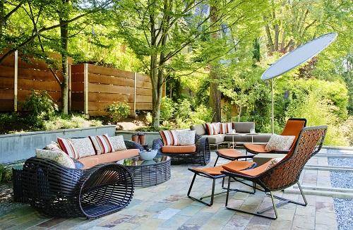 salon de jardin de luxe